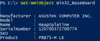 PowerShell: Getting RAM Info by manufacturer, speed, serial number