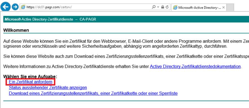 Active Directory Zertifikatsdienste (Teil 1-8) – SID-500.COM