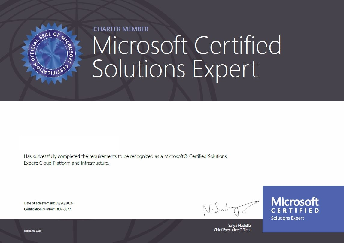 Overview Microsoft Certifications For Windows Server 2016 Mta