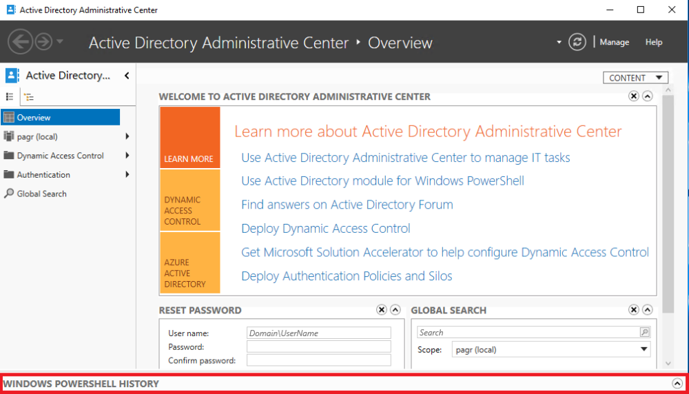 Learning PowerShell with Active Directory Administrative