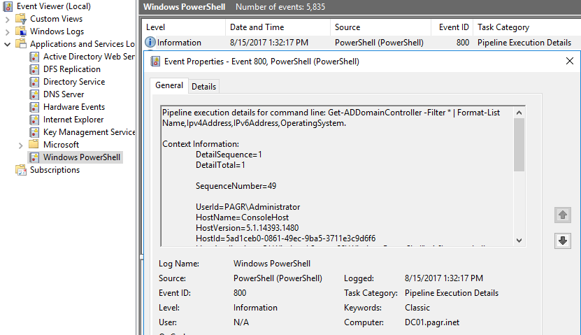 Monitoring Windows PowerShell: Enable Module Logging – SID