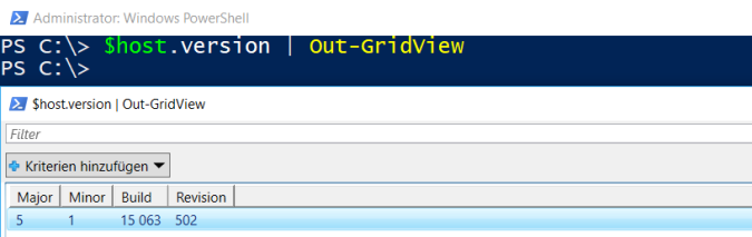 Check Version of PowerShell (localhost and remote hosts) – SID-500 COM