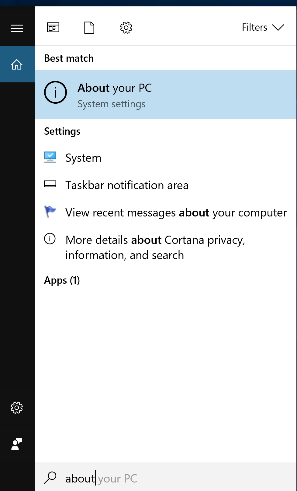 How to find out currently installed Windows Version (Fall