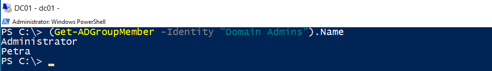 PowerShell: Notify me when someone is added to the