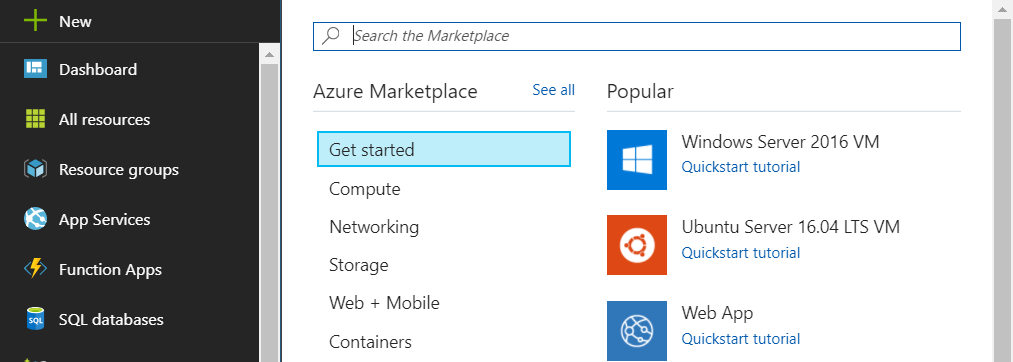 Microsoft Azure: How to create an Azure VM and connect via Remote