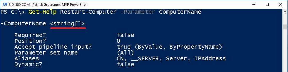 PowerShell for Beginners (Part 3): The Parameters – SID-500 COM
