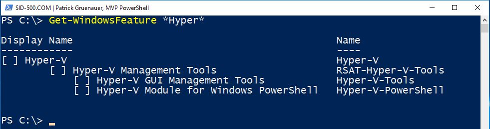 Install Hyper-v On Windows Server 2012 R2