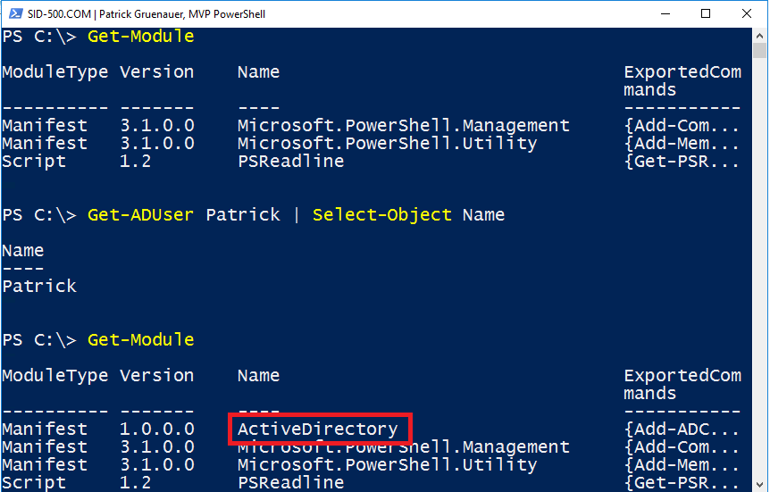 PowerShell for Beginners (Part 12): PowerShell Modules – SID
