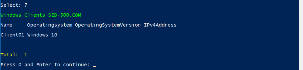 Active Directory Domain Services Section (Version 1 1) – SID